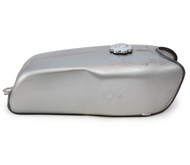 The Horizon Cafe Racer Gas Tank - Raw Steel