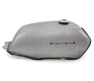 The Manta Cafe Racer Gas Tank - Raw Steel