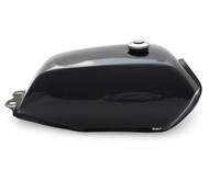 The Manta Cafe Racer Gas Tank - Black
