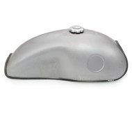The Mojave Cafe Racer Gas Tank - Raw Steel
