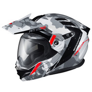 Scorpion EXO AT950 Outrigger Modular Helmet - White / Grey