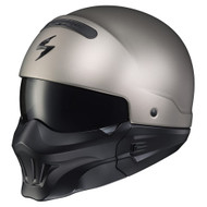 Scorpion Covert w/ Evo Mask Helmet - Solid Titanium