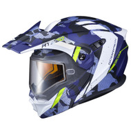 Scorpion EXO AT950 Outrigger Dual Lens Helmet - Matte Blue