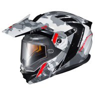 Scorpion EXO AT950 Outrigger Dual Lens Helmet - White / Grey