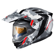 Scorpion EXO AT950 Outrigger Electric Helmet - White / Grey
