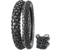 Bridgestone TW301/302 Trail Wing Dual Sport Tire Set - Honda XR250L SL350K 72-73 XR650L