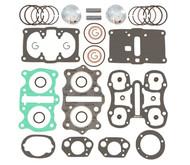 Top End Engine Rebuild Kit w/ Pistons - Honda CB/CL350K 70-73 - SL350K