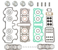 Top End Engine Rebuild Kit w/ Pistons - Honda CB750 - 1970-1976