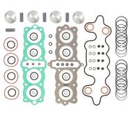 Top End Engine Rebuild Kit w/ Pistons - Honda CB550