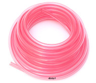 "Helix Clear Pink/Red 3/16"" Polyurethane Fuel Line - By The Foot"