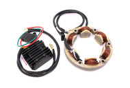 Rick's High Output Charging Kit - Rectifier / Regulator and Stator Combo - Honda CB350 CB360