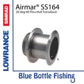 Airmar for Lowrance / SIMRAD SS164 - 20 deg tilt Thru-Hull Transducer