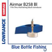 Airmar for Lowrance / SIMRAD B258 Bl 7 Pin Thru-Hull fairing block transducer