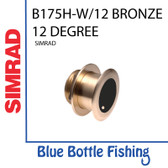 Airmar for Lowrance / SIMRAD B175H-W CHIRP Bronze 12 deg Thru-Hull transducer