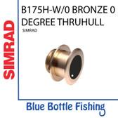 Airmar for Lowrance / SIMRAD B175H-W CHIRP Bronze 0 deg  Thru-Hull transducer