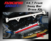 Racing Beat - Front Sway Bar Mount Brace Kit 93-95 RX-7