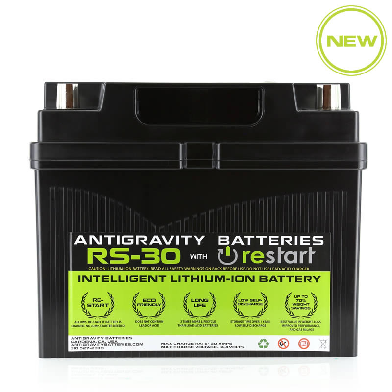 Lithium Ion Car Battery >> Antigravity Rs 30 Restart Car Battery