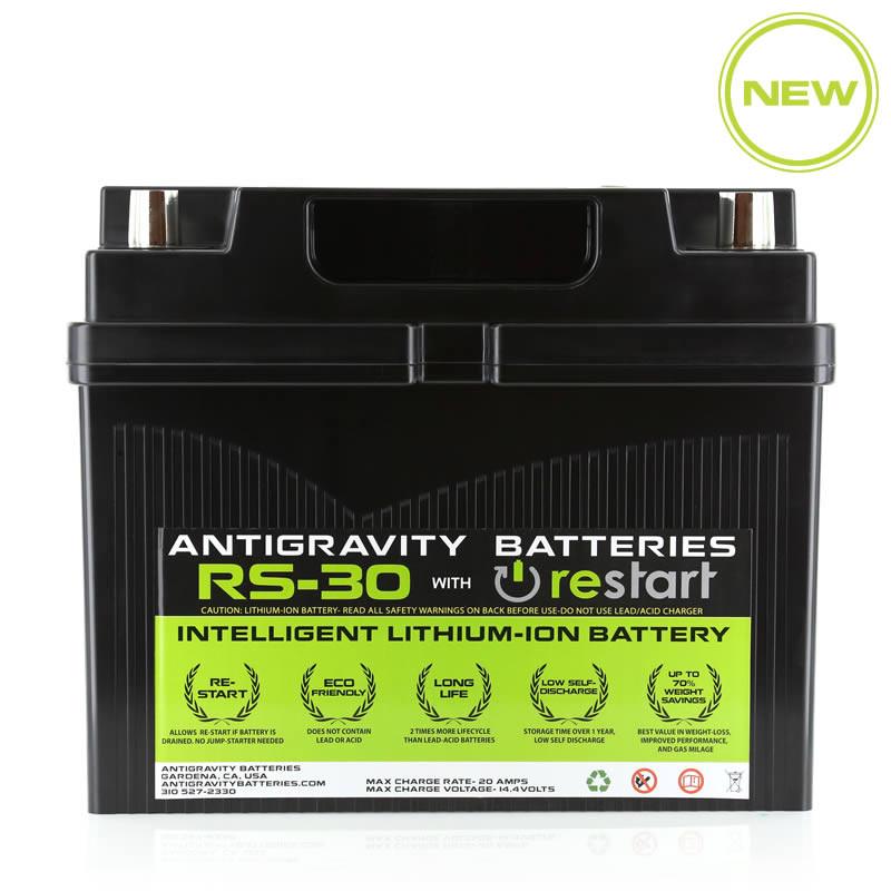 Lithium Ion Car Battery >> Antigravity Rs 30 Restart Car Battery Sakebomb Garage Llc
