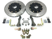 Scratch -n-Dent SBG Competition Rear Brake System (S2000, Rear RX8 Caliper Retrofit kit)