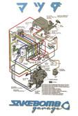 SakeBomb Garage Turbo Control System Poster