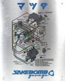 SakeBomb Garage Turbo Control System Poster Aluminum Print
