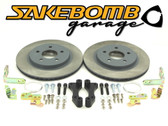 SakeBomb Garage Sprint Rear BBK (S2000, Rear RX8 Caliper Retrofit kit)