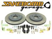 SakeBomb Garage Sprint Rear BBK (S2000, Rear RX8 Caliper Retrofit kit)