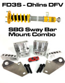 Ohlins DFV Kit + Sway Bar Mount Combo