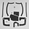 Mopar B Body 70 Coronet Super Bee MEGA Splash Shield Set -Auto