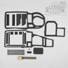 Ford 65-68 Galaxie Custom AC Heater Box Restoration Rebuild Seal Gasket Kit