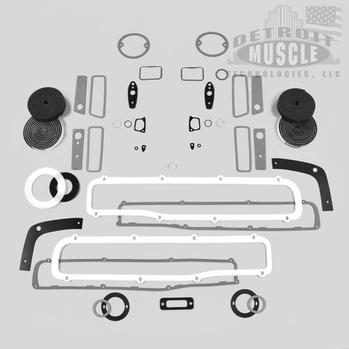 Mopar B Body 70 Charger Paint Exterior Gasket Set