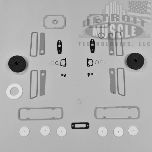 Mopar A Body 70 Dart Paint Exterior Gasket Set
