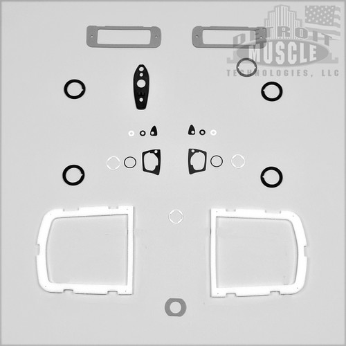 Mopar B Body 1968 68 Roadrunner Paint Exterior Gasket Set BASIC