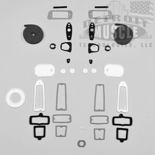 Mopar A Body 1966 66 Barracuda Paint Exterior Gasket Set