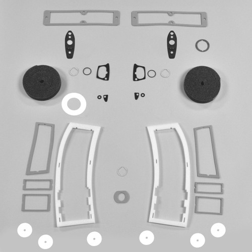 Mopar A Body 67 Valiant Paint Exterior Gasket Set