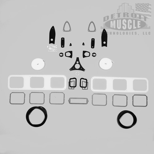 Mopar B Body 64 Dodge Polara 500 Paint Exteroir Gasket Set