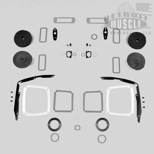 Mopar B Body 69 Roadrunner Paint Exterior Gasket Set