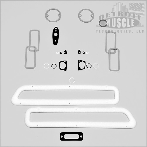 Mopar B Body 69 Dodge Coronet  R/T 500 Paint Exterior Gasket Set BASIC