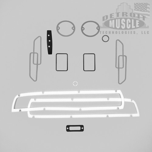 Mopar E Body 1971 71 Challenger Paint Exterior Gasket Set BASIC
