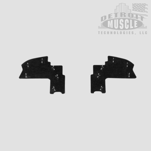 Mopar A Body 63 64 65 66 Rear Splash Plate Top Splash Shields