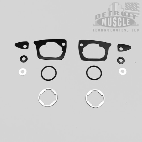 Mopar B Body 68 -70 Door Handle & Lock Gaskets
