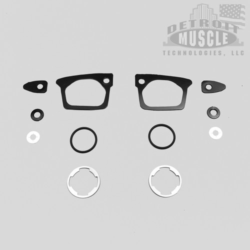 Mopar B Body 66-67 Door Handle & Lock Gaskets