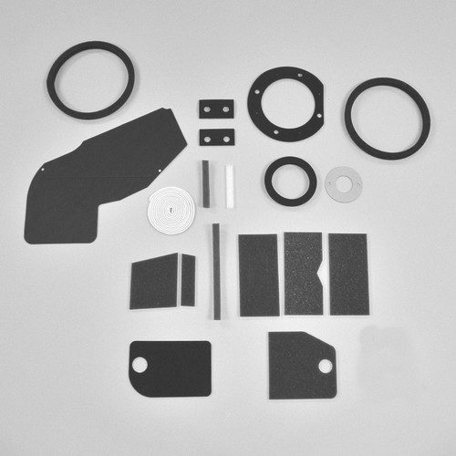 Mopar A Body 63-66 BASIC NON AC Heater Box Rebuild Restoration Seal Gasket Kit