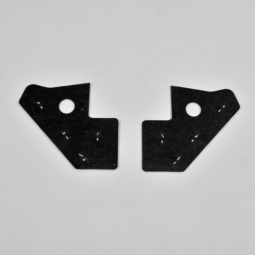 Mopar A Body 67 68 69 Dart Rear Splash Plate Shield Top Seals