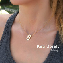 Personalized Number Necklace - Choose Your Metal
