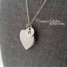 Copy of Personalized Heart Locket With Initial Charm