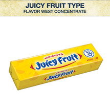 Flavor West Juicy Fruit Type Flavour Concentrate