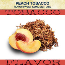 Flavor West Peach Tobacco Flavour Concentrate