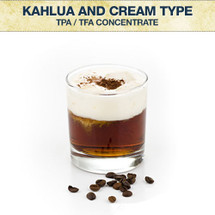 TPA / TFA Kahlua and Cream Type Concentrate