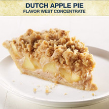 Flavor West Dutch Apple Pie Concentrate